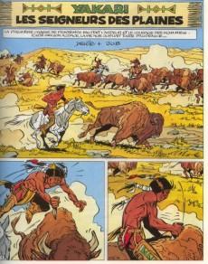Extrait de Yakari -13- Les seigneurs des plaines