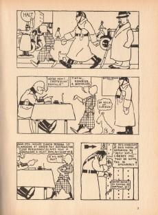 Extrait de Tintin (Fac-similé N&B) -1- Tintin au pays des Soviets