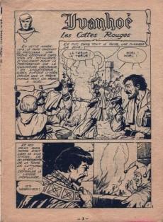 Extrait de Ivanhoé (1e Série - Aventures et Voyages) -69- Les Cottes Rouges