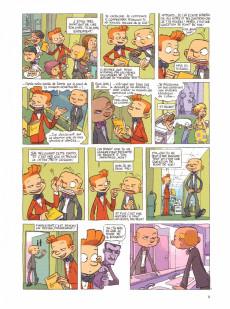 Extrait de Spirou et Fantasio (Une aventure de / Le Spirou de...) -8- La grosse tête