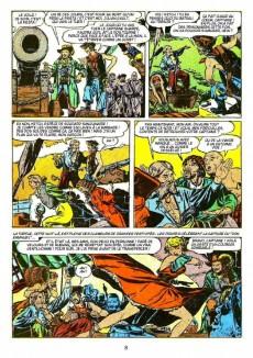 Extrait de L'Âge d'Or de la bande dessinée américaine -1- Histoires de Pirates