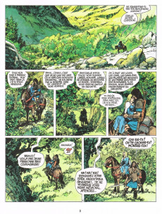 Extrait de Thorgal -3b93- Les trois vieillards du pays d'Aran