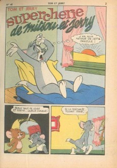 Extrait de Tom et Jerry (Puis Tom & Jerry) (2e Série - Sage) -41- Supercherie de Mitsou et Jerry