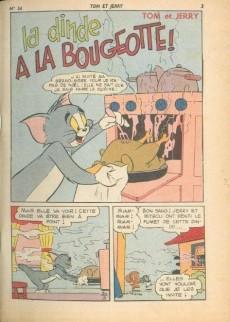 Extrait de Tom et Jerry (Puis Tom & Jerry) (2e Série - Sage) -34- La dinde à la bougeotte !