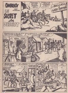 Extrait de Ombrax -59- Le secret du désert