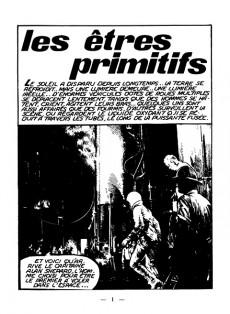 Extrait de Jet Logan (puis Jet) -1- Les êtres primitifs