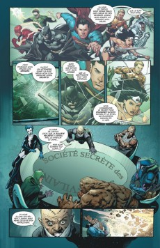 Extrait de Justice League (DC Renaissance) -8- La Ligue d'Injustice