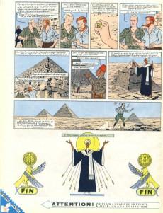 Extrait de Blake et Mortimer (Historique) -4a56- Le Mystère de la Grande Pyramide - Tome II