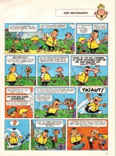 Extrait de Achille Talon -1b79- Les idées d'Achille Talon cerveau-choc !