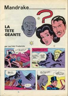 Extrait de Mandrake (1e Série - Remparts) (Mondes Mystérieux - 1) -438- La tête géante