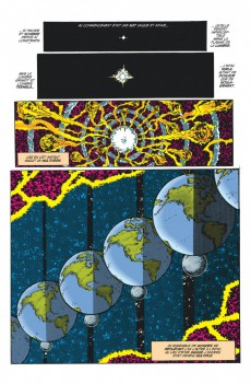 Extrait de Crisis on infinite earths -INTa- Crisis on Infinite Earths