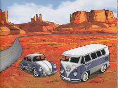 Extrait de Vieux Tacots -2- La Coccinelle et le Combi VW !