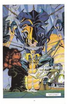 Extrait de Aliens versus Predator -1- Une chasse à l'homme (1)