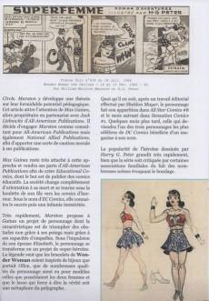 Extrait de (DOC) Les publications Américaines en France -1- L'Histoire des Super-Héros - L'âge d'or (1939 - 1961)