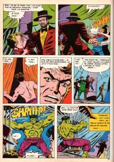 Extrait de Albums Artima DC/Marvel Super Star Géants - Hulk et le petit garçon