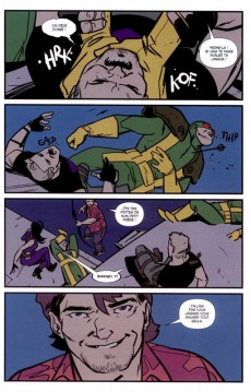 Extrait de All-New Hawkeye (100% Marvel) -2- Les Hawkeye