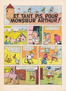 Extrait de Sylvain et Sylvette (02-série : nouvelles aventures de Sylvain et Sylvette) -3- Et tant pis pour Monsieur Arthur!