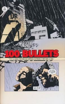 Extrait de 100 Bullets (albums brochés) -1- Tome 1