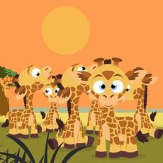 Extrait de (AUT) Beno - Chloé, La Girafe...