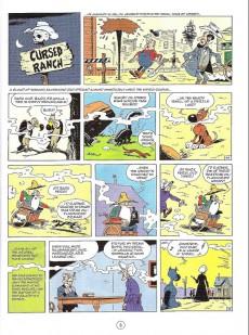Extrait de Lucky Luke (en anglais) -5662- The cursed ranch