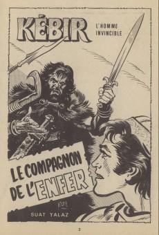 Extrait de Kébir -20- Le compagnon de l'enfer