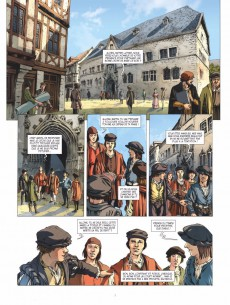 Extrait de Ils ont fait l'Histoire -20- Luther