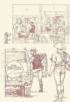 Extrait de Lefranc -HS- Au Fil du Mékong