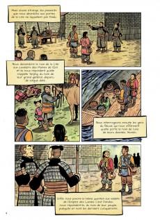 Extrait de La cité sans nom -1- Menace sur l'Empire Dao