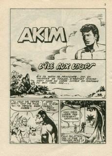 Extrait de Akim (2e série) -76- L'île aux loups