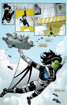 Extrait de She-Hulk (2005) -15- Planet Without A Hulk: Part 1 of 4