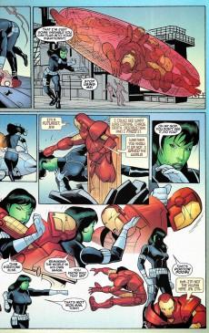 Extrait de She-Hulk (2005) -18- Planet Without A Hulk: Part 4 of 4
