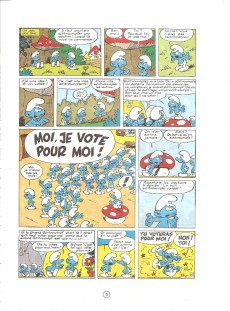 Extrait de Les schtroumpfs -2b75- Le schtroumpfissime (et schtroumpfonie en ut)