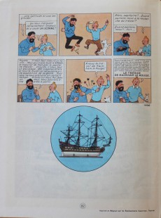 Extrait de Tintin (Historique) -11B33- Le secret de la Licorne