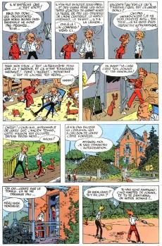 Extrait de Spirou et Fantasio -8- La mauvaise tête