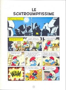 Extrait de Les schtroumpfs -2- Le Schtroumpfissime (+ Schtroumpfonie en ut)
