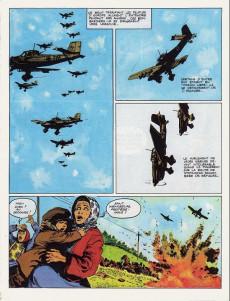Extrait de La seconde guerre mondiale - Histoire B.D. / Bande mauve -1- Blitzkrieg - Tonnerre sur Varsovie