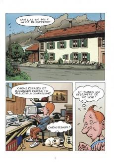 Extrait de Radock I - Les aventures de Tintoin - L'ydille noire