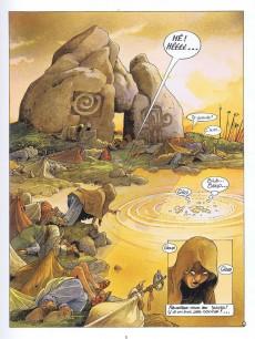 Extrait de Le cycle de Cyann -3- Aïeïa d'Aldaal