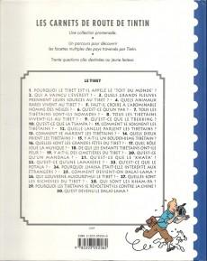 Extrait de Tintin - Divers -Car4- Carnets de route : le Tibet