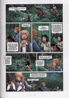 Extrait de Les contes de Brocéliande -2- Livre second: Polbik le korrigan