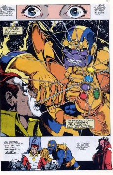 Extrait de Best of Marvel -4- Le gant de l'infini - Le défi de Thanos