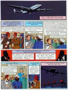 Extrait de Blake et Mortimer (Publicitaire) -4Esso- Le Mystère de la Grande Pyramide - Tome 1