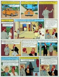 Extrait de Blake et Mortimer (Publicitaire) -5Esso- Le Mystère de la Grande Pyramide - Tome 2
