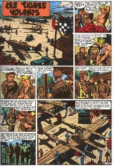 Extrait de Buck Danny (Tout) -2- La guerre du Pacifique - Seconde partie