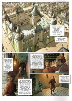 Extrait de Le trône d'Argile -1- Le chevalier à la hache