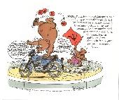 Extrait de Illustré (Le Petit) (La Sirène / Soleil Productions / Elcy) - Le Petit Motard illustré de A à Z