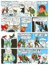 Extrait de Les 4 as -7- Les 4 as et le dragon des neiges