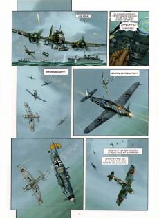 Extrait de Au-delà des nuages -2- Combats