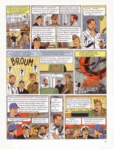 Extrait de Blake et Mortimer -3- Le secret de l'Espadon T3