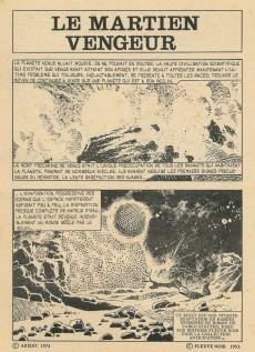 Extrait de Sidéral (2e série) -35- Le martien vengeur (1re partie)